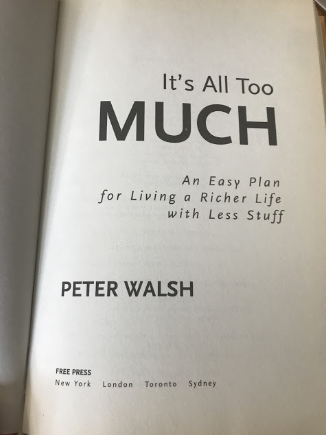peter walsh book