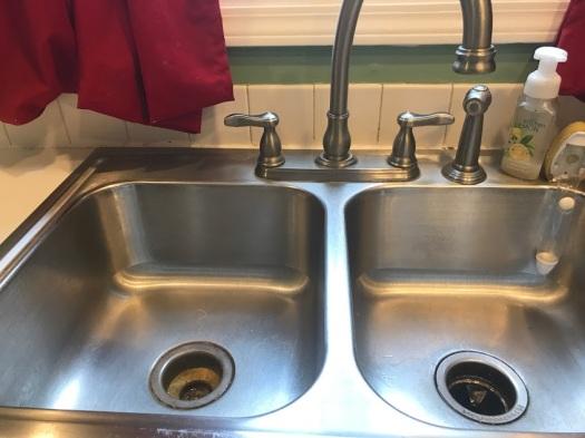 clean sink 1
