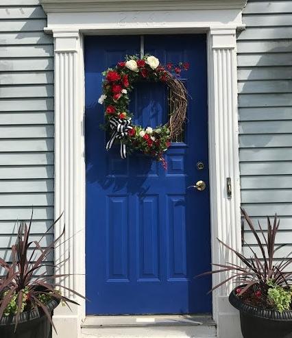front door sun
