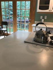kitchen island hot zone clean