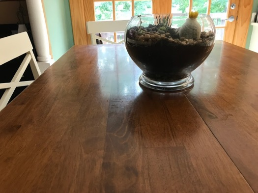 kitchen table clear