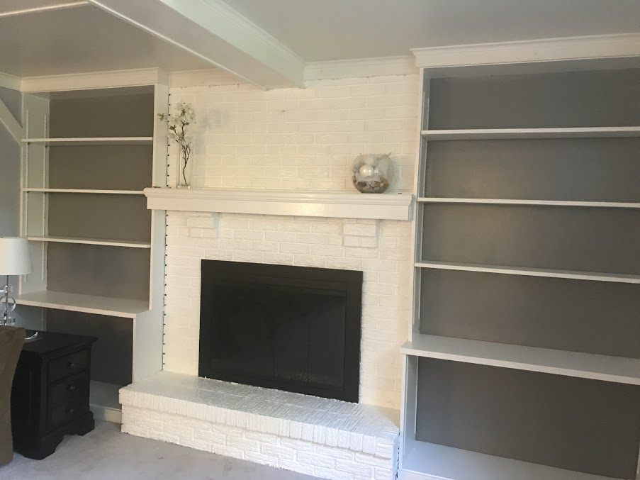 bookcase gray