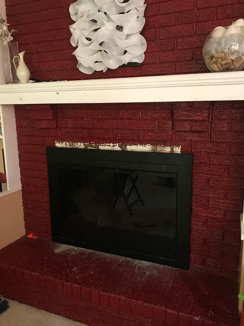 new fireplace door